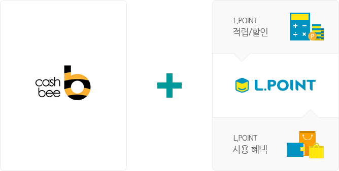 cashbee + L.POINT(L.POINT 적립/할인, L.POINT 사용혜택)
